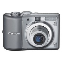 Canon PowerShot A1100IS 12.1 MP Digital Camera with 4x Optical Image Stabilized Zoom and 2.5-inch LCD (Silver)