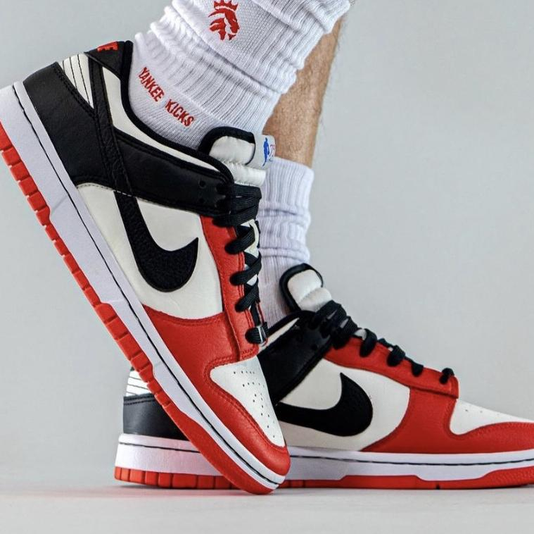 Image of Nike Dunk Low NBA 75th Anniversary Sneakers Shoes