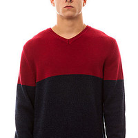 patagonia The Lambswool VNeck Sweater in Graphite Navy : Karmaloop.com - Global Concrete Culture