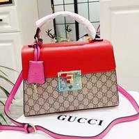 Gucci Classic casual wild shoulder messenger bag handbag small square bag