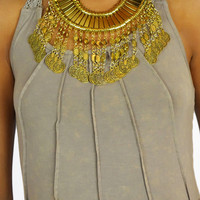 Bohemian Princess Necklace - Gold