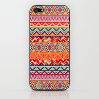 India Style Pattern (Multicolor) iPhone & iPod Skin by Maximilian San   Society6