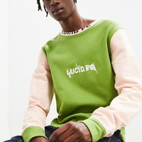 Lucid FC Fabricated Crew Neck Sweatshirt | Urban Outfitters