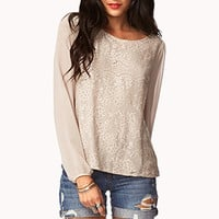 Essential Lace Front Top