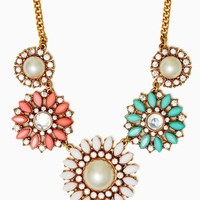 Pearl World Flower Necklace | Jewelry | charming charlie
