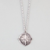 Full Tilt Compass Necklace Silver One Size For Women 22879314001
