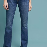 Current/Elliot The Flip Flop High-Rise Cropped Jeans