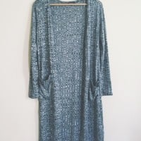 Roanne Ribbed Charcoal Cardigan