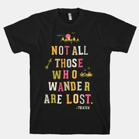 Not All Those Who Wander Are Lost | HUMAN