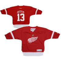 Reebok Pavel Datsyuk Detroit Red Wings Toddler Replica Home Jersey - Red