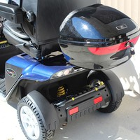 Scooter Locking Compartment Medium J1200 - Challenger Accessories Rear Baskets   TopMobility.com