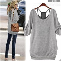 Leisure Personality Charming Halter Two Shirts
