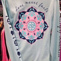 New SIMPLY SOUTHERN LOVE NEVER FAILS  LONG SLEEVE SHIRT