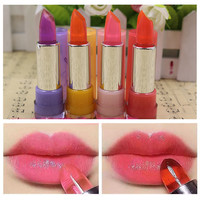 1PCS Color Changing Non stick Cup Crystal Lipstick Lip Balm Batom Fruit Flavor Cosmetics Maquiagem Maquillaje-in Lipstick from Health & Beauty on Aliexpress.com   Alibaba Group