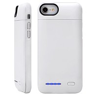 White Charging iPhone Case