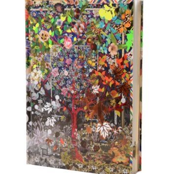 Four Seasons Journal with Gilded Gold Edge by Christian Lacroix