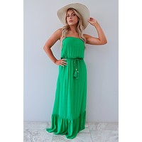 Summer In Paradise Maxi: Kelly Green