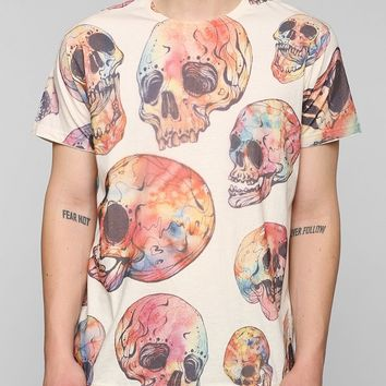 Colorful Skeleton Tee - Urban Outfitters