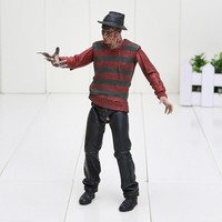 A Nightmare on Elm Street figure Freddy Krueger 30th Model Toy collection model Kids Toys Classic Toys 17cm