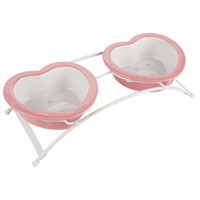 Top Paw Princess Double Diner Stand With Bowls