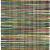 Safavieh Rag Rug RAR240E Green / Multi Rug