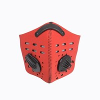 Anti-pollution Half Face Mask for Outdoor Sports Shooting Paintball Airsoft Face Cover Ski Snowboard Skate Dustproof Windproof