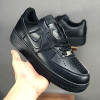 Nike Air Force 1 07 Low Black Men Casual Shoes - Best Deal Online