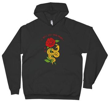 I Will Eat Your Heart Hoodie