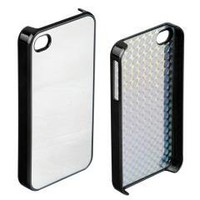 Mirror Color Steel Metal Back Hard Case Cover for iPhone 4 4s free shipping