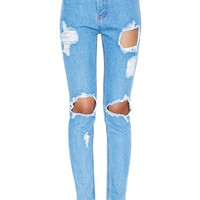 Need to Get Frayed Jeans