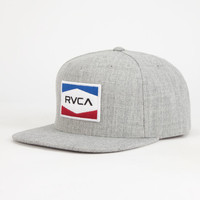 Rvca Nations Mens Snapback Hat Light Grey One Size For Men 26073813101