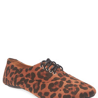Leopard Print Oxfords | Wet Seal