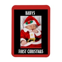 Babys First Christmas Magnet