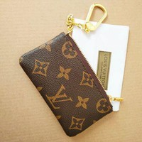 LV Louis Vuitton Key Pouch Key Cover
