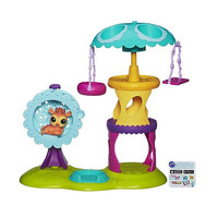 Littlest Pet Shop Playtime Park with Russell Ferguson Playset (Motion Playground)
