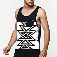 Volcom Atsa Pocket Tank Top - Mens Tee - Black