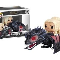 POP Rides: Game of Thrones - Drogon & Daenerys