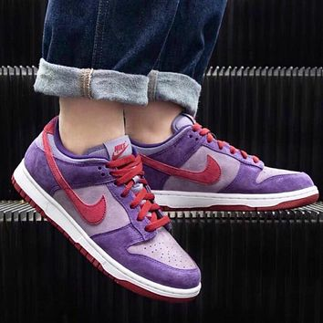 Nike Dunk Low Plum New fashion hook couple running shoes
