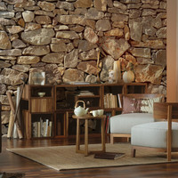 Brewster Stone Wall Mural - Size One