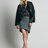 Finders Keepers Womens Wildfire Skirt - Black / White