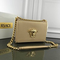 Versace Women Leather Shoulder Bags Satchel Tote Bag Handbag Shopping Leather Tote Crossbody