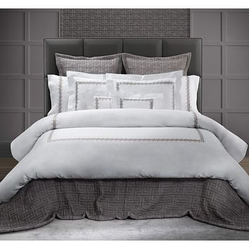 Etruria Embroidery Bedding by Dea Linens