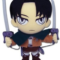 "Great Eastern Attack on Titan 9"" Levi Ackerman Plush"