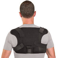 The Place Anywhere Cordless Heated Back Wrap - Hammacher Schlemmer