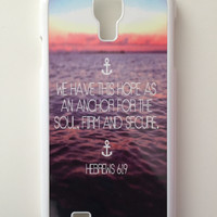 Hebrews 6:19 Android Galaxy Case