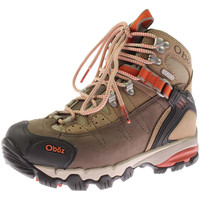 Oboz Womens Wind River II Leather Lace Up Hiking Boots