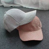 2016 Baseball Cap For Women Casual Lace Hat Outdoor Hats Fashion Free Shipping
