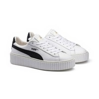 PUMA by Rihanna Creeper White Leather, buy it @ www.puma.com