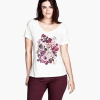 H&M+ T-shirt with a motif - from H&M