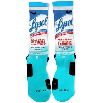 Germ Killer Custom Nike Elite Socks